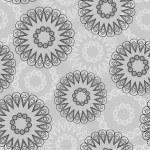 Vector abstract circles seamless pattern — Stock Vector #7157652