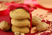 Nut cookies — Stock Photo