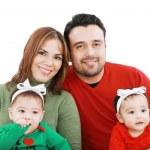 Family and children — Stock Photo