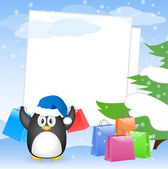 Christmas greeting card with place for your text — 图库矢量图片