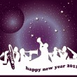 Happy new year 2012 - Stock Photo