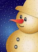 Santa Claus - greeting card — Stock Photo