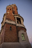 Gardos tower at dusk — Stock Photo
