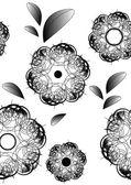 Kwiaty gradientu liniowego — Zdjęcie stockowe