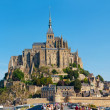 Panorama le Mont Saint-Michel — Stock Photo