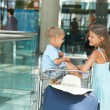 Royalty-Free Stock Photo: Child in the airport