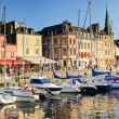 Panorama. Sunset in Honfleur. — 图库照片
