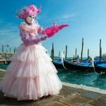 benátský karneval — Stock fotografie #7626036