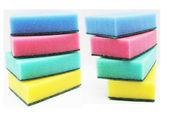 Colour sponges for dishwashing — Stock Photo