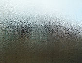 Fogged up glass — Stock Photo
