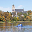 Постер, плакат: Castle Pond and the Castle Church 6