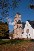 The Castle Church in Chemnitz — Stock Photo