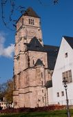 Castle Church Chemnitz, Germany — Stock Photo