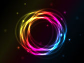 Abstract Vector Circles — Vector de stock