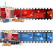 Cinema Banners - Stock Vector