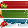 Christmas banners — Stock Vector #7474702