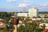 Industrial district in the city — Stock Photo