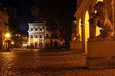 Piazza rynok in lviv — Foto Stock