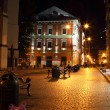 Stock Photo: Lviv city by night