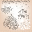 Set of Christmas items -  