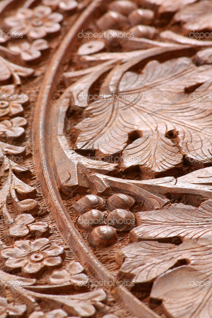 Wood carving — Stock Photo #6885711