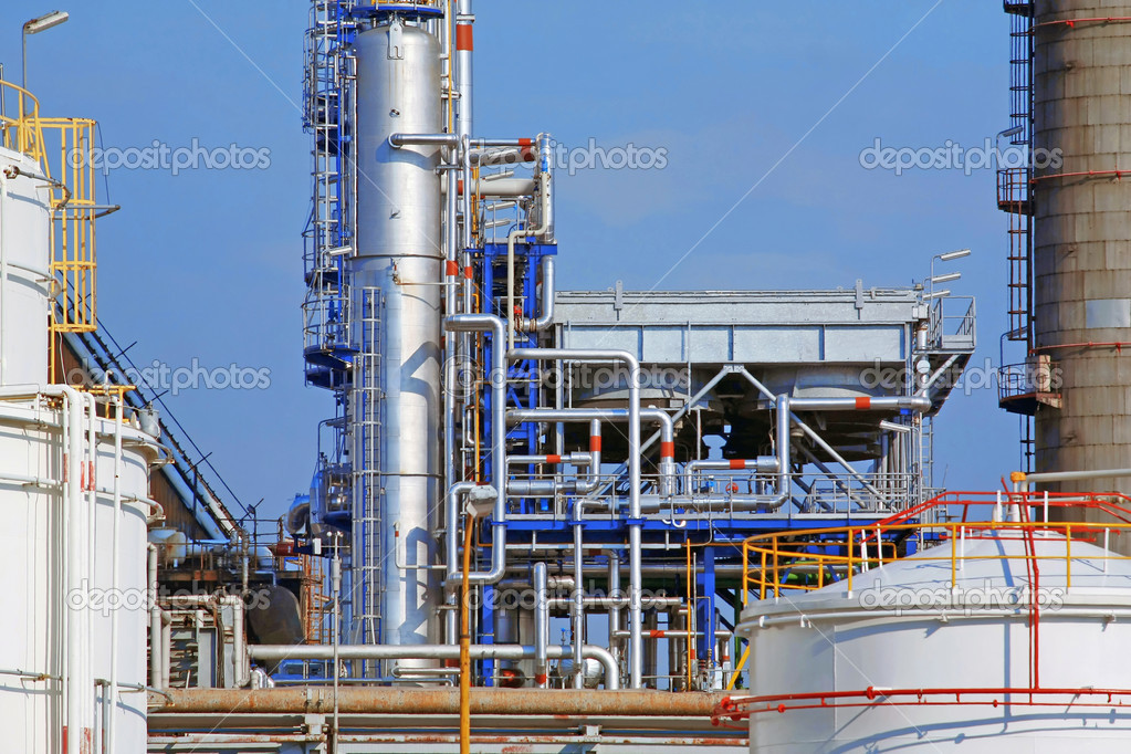 Refinery — Stock Photo #6885835