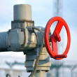 Stock Photo: Pipeline valve