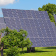 Stock Photo: Solar power plant
