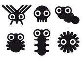 Little creatures — Stock Vector