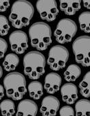 Skulls background — Stockvektor