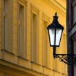 Prague street lamp — Foto Stock
