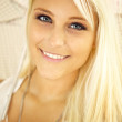 Blonde Lady With Sparkling Eyes — Stock Photo #7347260