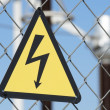 Electrical hazard — Stockfoto