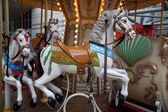 Carousel delicate color — Stock Photo