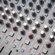 Royalty-Free Stock Photo: Pro audio mixing board