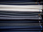 Suit a variety of texture fabric — ストック写真