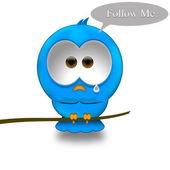 Twitter bird — Stock Photo
