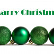 Green festive background - Stock Photo
