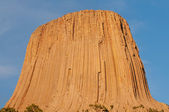 Sunset at Devils Tower — Stock Photo