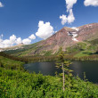 High Mountains of Glacier National park — Stock Photo #7051493