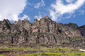 Crags of Glacier Park — Stock Photo