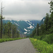 Road Heading into the Wilderness — Stockfoto