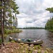 Stock Photo: Portage into wilds