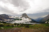 Storm over the mountains — Stock Photo