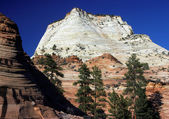 The White Cliffs of Zion — Stock Photo