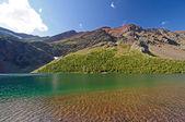Summer on a Mountain Lake — Stock Photo