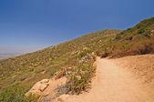 Trail on a desert mountain — Stock Photo