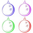 Christmas-tree decoration — Stock Photo #7230992