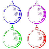 Christmas-tree decoration — Stock Photo