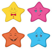 Smilies stars — Stock Vector